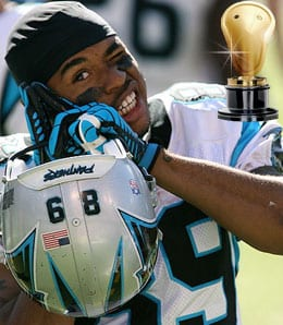 Steve Smith has been awful for the Carolina Panthers.
