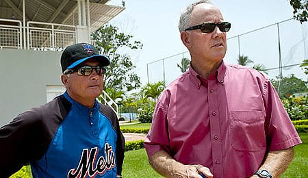 Terry Collins and Sandy Alderson have their work cut out for them with the New York Mets.