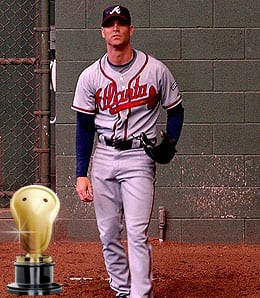 Tim Hudson had a phenomenal season for the Atlanta Braves.