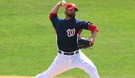 Brian Bruney was rancid for the Washington Nationals.