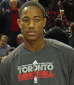 DeMar DeRozan has taken a massive step forward for the Toronto Raptors.