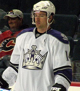 Justin Williams will miss the rest of the season for the Los Angeles Kings.