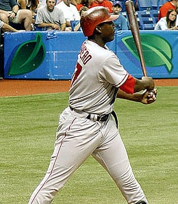 Vladimir Guerrero brings hit big stick to the Baltimore Orioles.