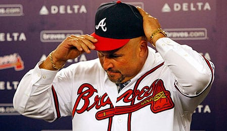 Fredi Gonzalez is trying to shake the Atlanta Braves up.