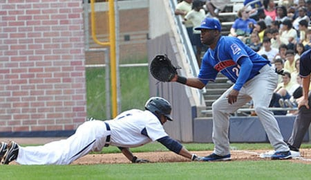 Norm Hutchins has resurfaced with the Rockland Boulders.