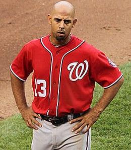 Alex Cora is barely playing for the Washington Nationals.