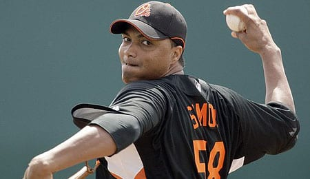 Alfredo Simon looked really strong in his last start for the Baltimore Orioles.