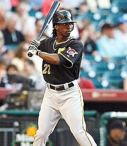 Andrew McCutchen is making progress for the Pittsburgh Pirates.