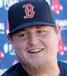 Bobby Jenks is getting healthy for the Boston Red Sox.