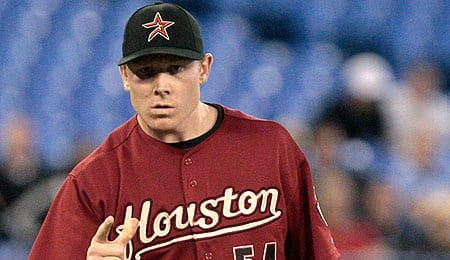 Mark Melancon isn't exactly racking up the saves on a lousy Houston Astros team.