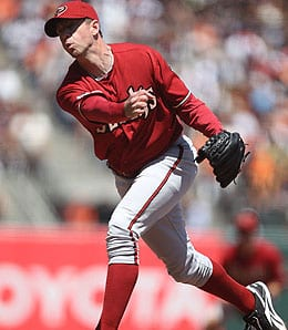 Brad Ziegler has pitched well for the Arizona Diamondbacks.