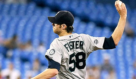 Doug Fister has been pitching extremely well for the Detroit Tigers.