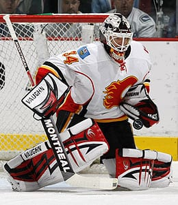 Miikka Kiprusoff is getting long in the tooth for the Calgary Flames.
