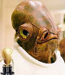 Admiral Ackbar is unimpressed with the Los Angeles Kings.