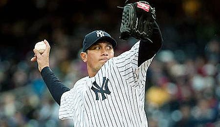 Freddy Garcia was surprisingly effective for the New York Yankees.