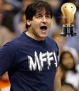 Mark Cuban yelled his way to a title for the Dallas Mavericks.