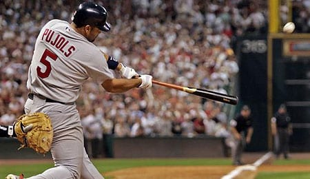 Albert Pujols will be mashing for the Los Angeles Angels this year.