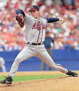 Tom Glavine had a Hall of Fame career, mostly with the Atlanta Braves.