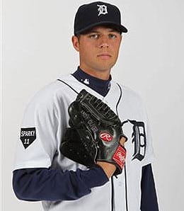 Andy Oliver has a good chance to be the fifth starter for the Detroit Tigers.