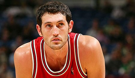 Kirk Hinrich is playing heavy minutes for the Atlanta Hawks.