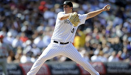 Drew Pomeranz should be a factor for the Colorado Rockies this season.