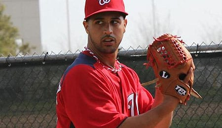 Gio Gonzalez brings a new dimension to the Washington Nationals.