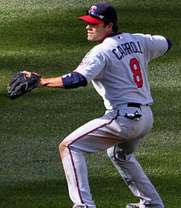 Jamey Carroll has lost his job with the Minnesota Twins.