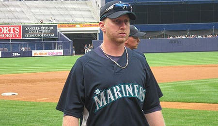 Mike Carp is back to mashing for the Seattle Mariners.
