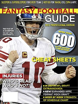 2012 Fantasy Football Guide