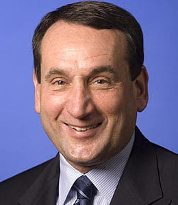 Mike Krzyzewski will try to steer Team USA to a gold medal at the London Olympics.
