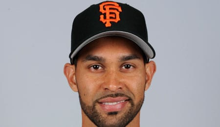 Angel Pagan has been playing well for the San Francisco Giants.
