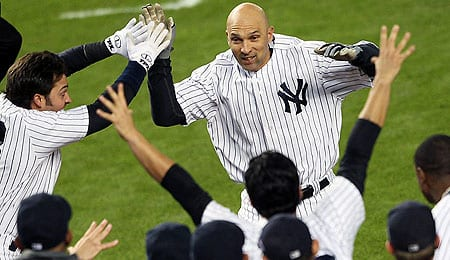 Raul Ibanez was the hero for the New York Yankees.