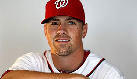 Tyler Moore played the hero for the Washington Nationals.