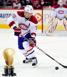 Andrei Markov endured another injury filled campaign for the Montreal Canadiens.