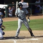 Seattle Mariners catching prospect Mike Zunino, pictured at the plate here, piled up the counting stats at the AFL.