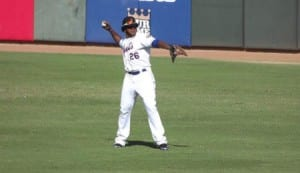 New York Mets outfield prospect Cesar Puello saw plenty of action in the AFL.