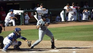 Seattle Mariners' catching prospect Mike Zunino, pictured at the plate, didn't tear up the AFL like he did Double-A.
