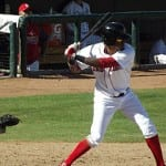 Boston Red Sox 1B prospect Michael Almanzar struggled to get hits at the AFL.