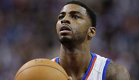 Dorell Wright has been starting for the Philadelphia 76ers.