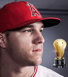 Mike Trout enjoyed one of the greatest rookie seasons ever for the Los Angeles Angels.
