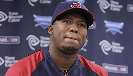 Roberto Hernandez struggled upon his return to the Cleveland Indians.