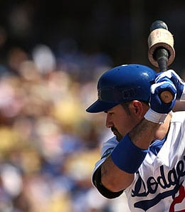 Adrian Gonzalez didn't exactly set the world on fire for the Los Angeles Dodgers.