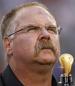 Andy Reid presided over a disaster in the Philadelphia Eagles.