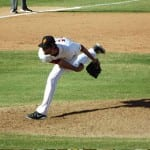 Chris Martin pitched exclusively out of the bullpen in the AFL.