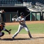 Seattle Mariners second base prospect Nick Franklin saw a lot of action in the AFL.