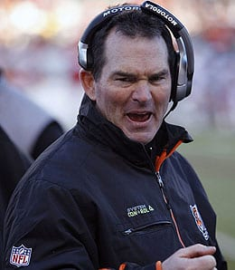 Mike Zimmer has done a great job with the Cincinnati Bengals.