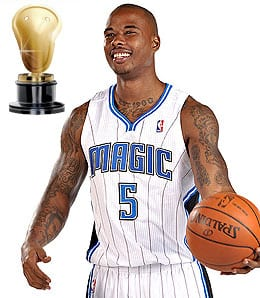 Quentin Richardson was occasionally hot for the Orlando Magic.