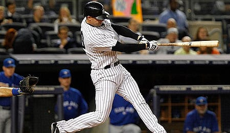 Chris Stewart has a chance to be the starting catcher for the New York Yankees.