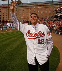 Kevin Gausman was taken fourth overall by the Baltimore Orioles.