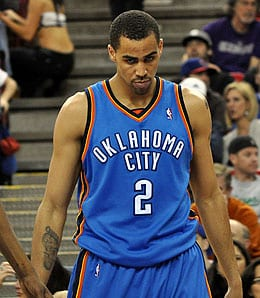 Thabo Sefolosha has been playing well for the Oklahoma City Thunder.
